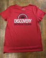 Picture of Red Sport T-shirt with Discovery logo