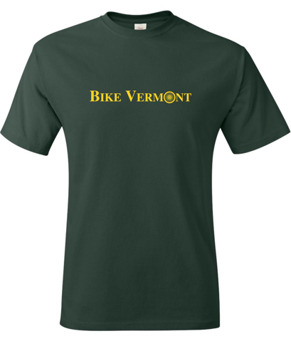 Green Bike Vermont T-shirt